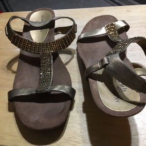 Anne Klein Shoes - Anne Klein Bronze colored sandals